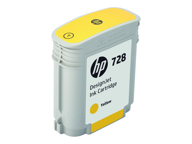 Cartus inkjet HP 728 Yellow 300 ml