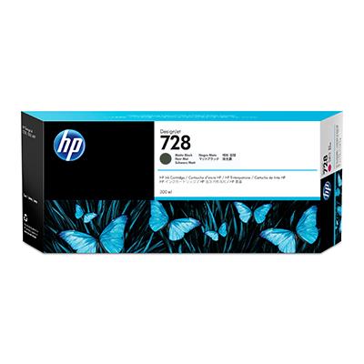 Cartus inkjet HP 728 Black Matte 300ml