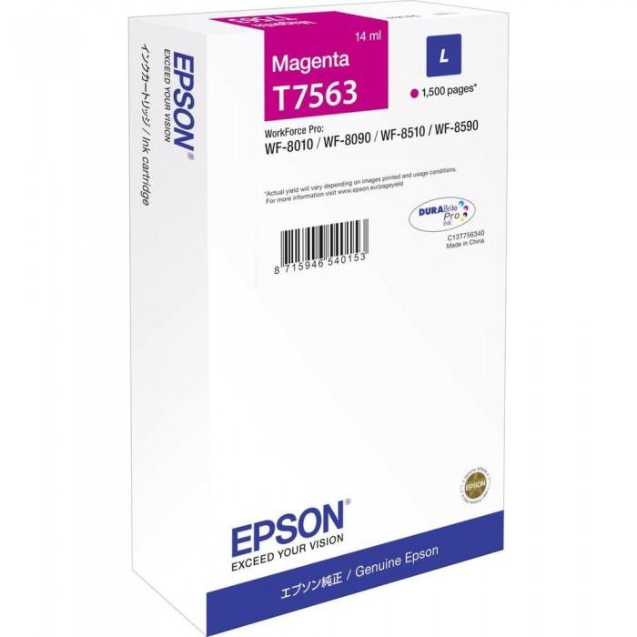 Cartus inkjet Epson T756340 Magenta Size L