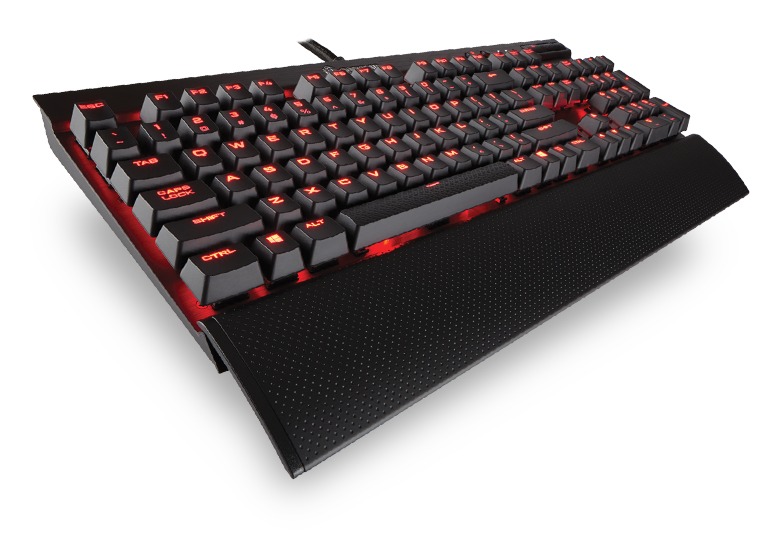 Tastatura Gaming Corsair K70 LUX Mechanical Red LED - Cherry MX Red US Version
