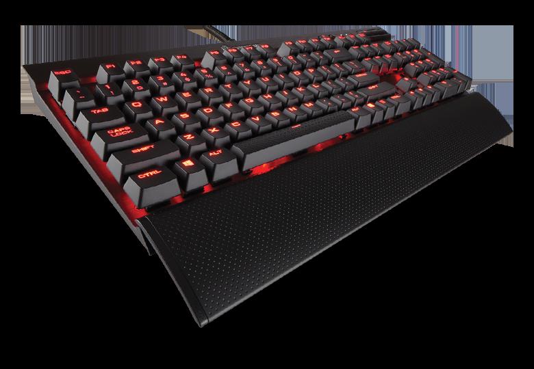 Tastatura Gaming Corsair K70 LUX Mechanical Red LED - Cherry MX Red EU Version