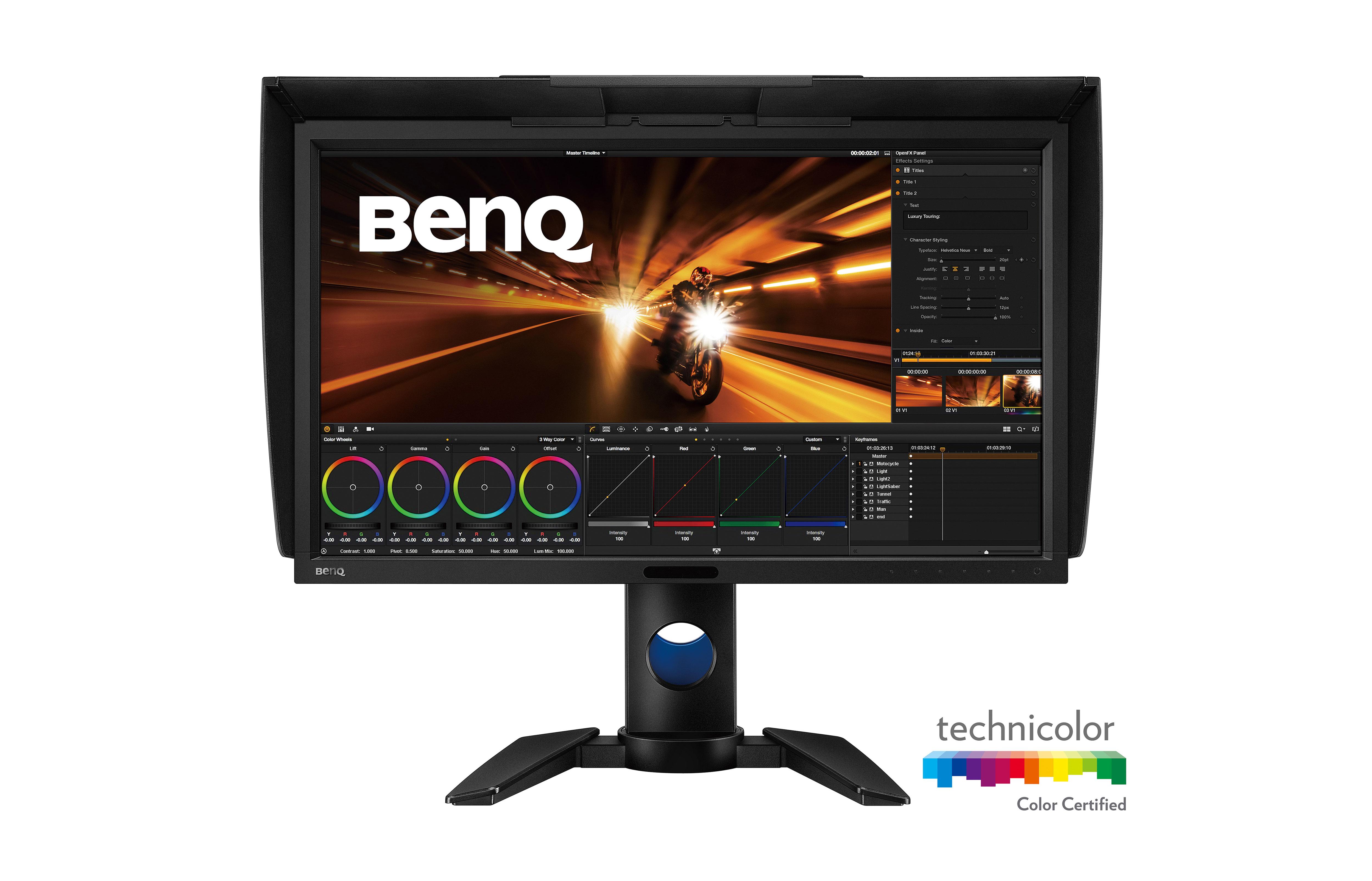 Monitor pentru post-productie video Benq PV270 27 QHD 5ms Negru
