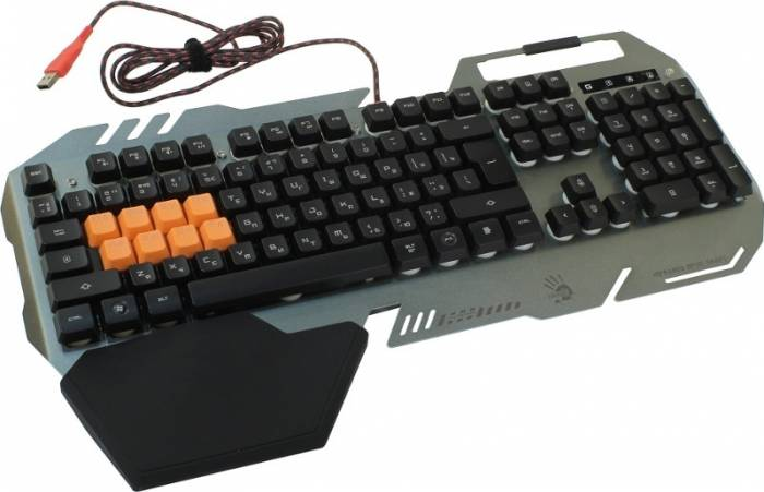 Tastatura Gaming A4Tech Bloody B418 Gold