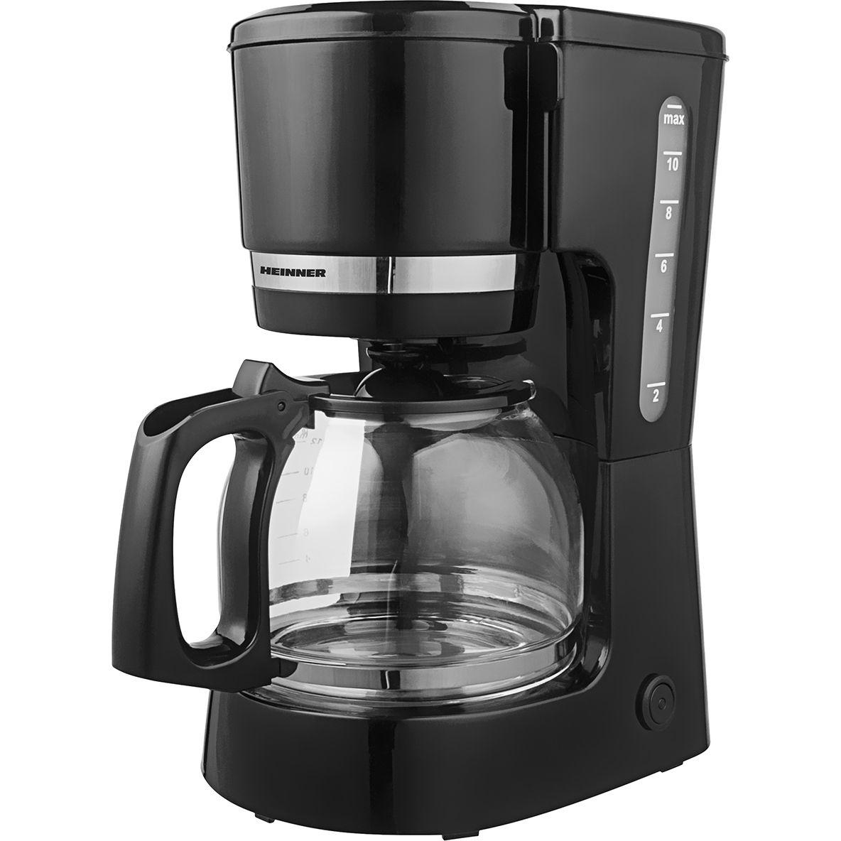Cafetiera Heinner HCM-800BK 800W 1.5L Negru