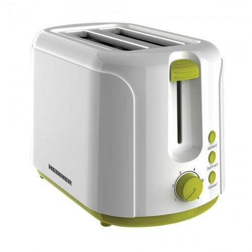 Prajitor de paine Heinner Charm TP-750 Alb/Verde