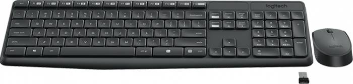 Kit Tastatura & Mouse Wireless Logitech MK235