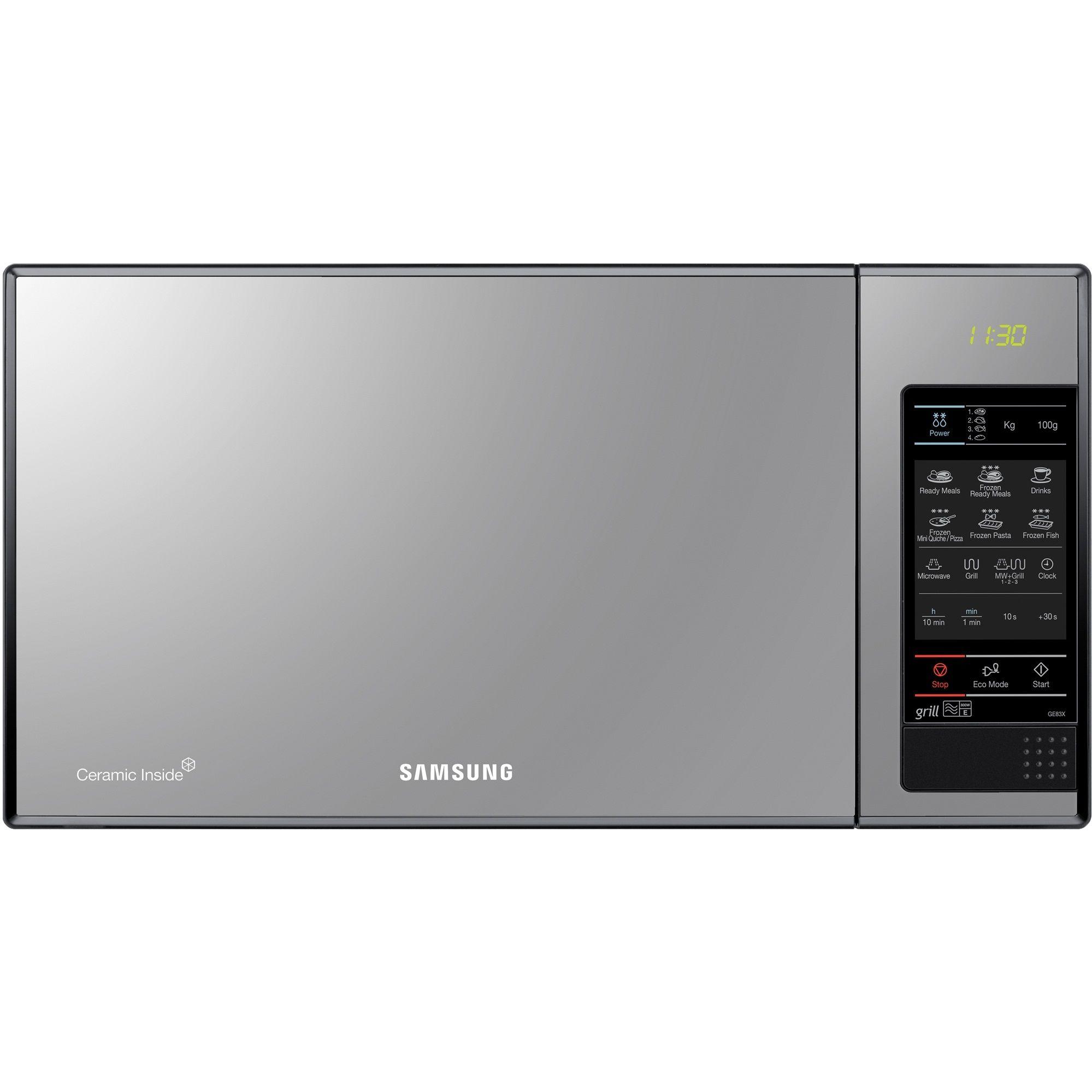 Cuptor cu microunde Samsung GE83X 800W Digital Negru
