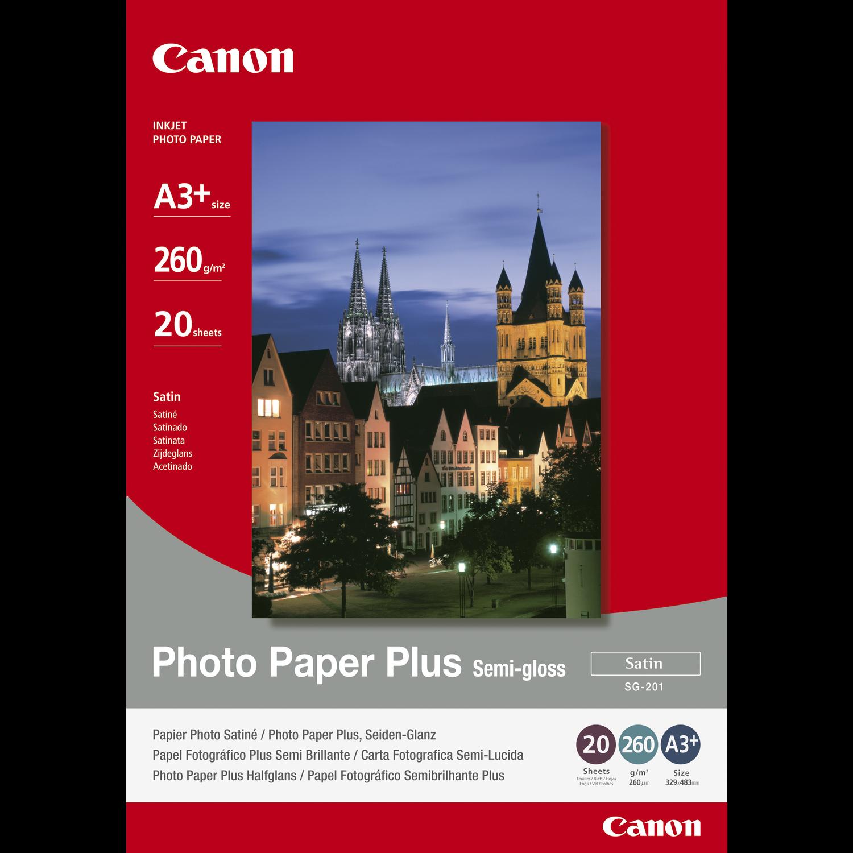 Hartie foto Canon SG201 Semi-lucioasa 260g A3+ 20 de pagini