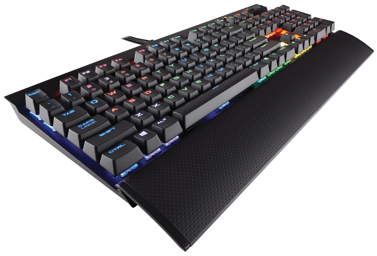 Tastatura Gaming Corsair K70 LUX Mechanical RGB - Cherry MX RGB Red EU Version