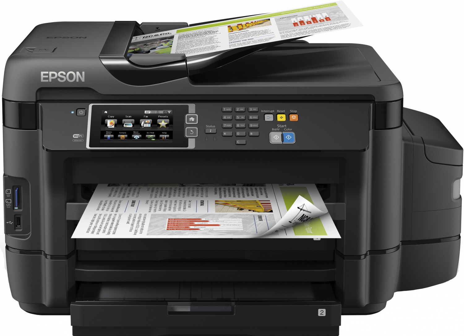 Multifunctional Inkjet Color Epson L1455 CISS