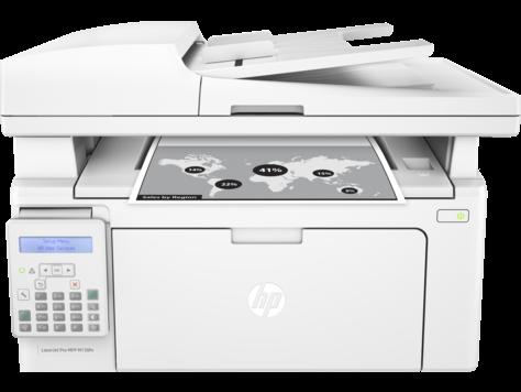 Multifunctional Laser Monocrom HP LaserJet Pro MFP M130FN
