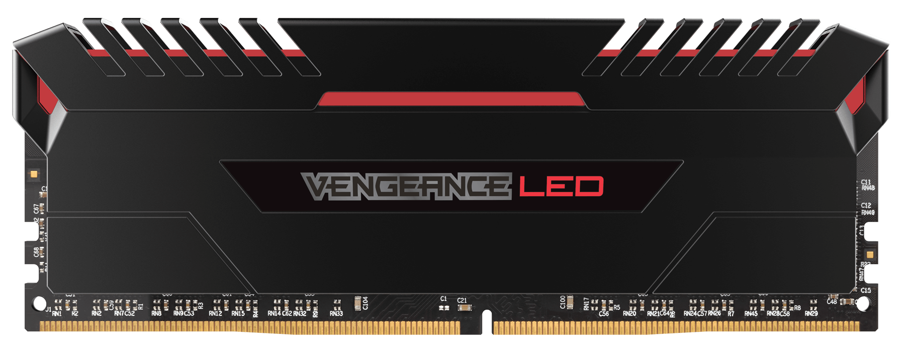 Memorie Desktop Corsair Vengeance LED 32GB (2 x 16GB) DDR4 2666MHz Red