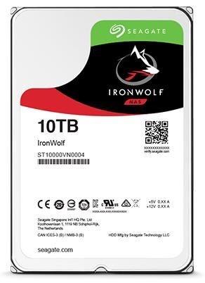 Hard Disk Desktop Seagate IronWolf Pro 10TB 7200RPM 256MB SATA III