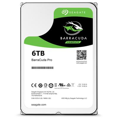 Hard Disk Desktop Seagate BarraCuda Pro 6TB 7200RPM 128MB SATA III