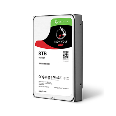 Hard Disk Desktop Seagate IronWolf 8TB 7200RPM 256MB SATA III