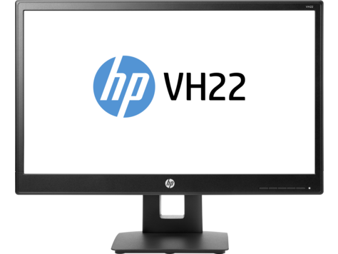 Monitor LED HP VH22 21.5 Full HD 16:9 VGA DVI DisplayPort Negru