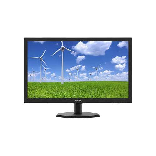 Monitor LED Philips 223S5LSB 21.5 Full HD 5ms D-Sub DVI Negru
