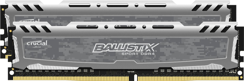 Memorie Desktop Micron Crucial Ballistix Sport LT 8GB DDR4 2400MHz Grey