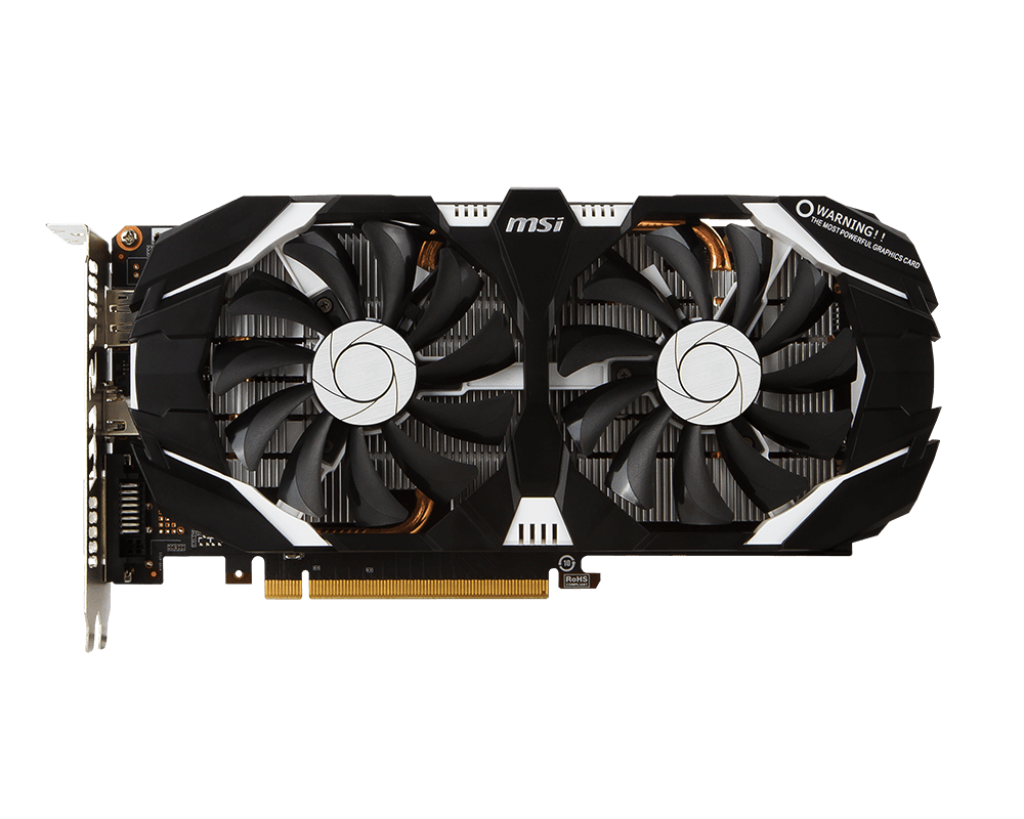 Placa Video MSI GeForce GTX 1060 3GT OC 3GB GDDR5 192 biti