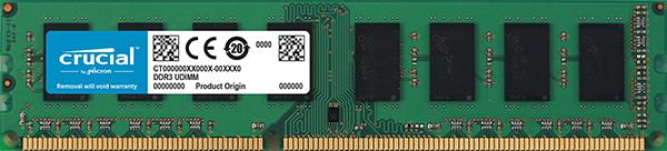 Memorie Desktop Micron Crucial CT102464BD160B 8GB DDR3L 1600MHz