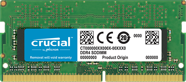 Memorie Notebook Micron Crucial CT16G4SFD824A 16GB DDR4 2400MHz