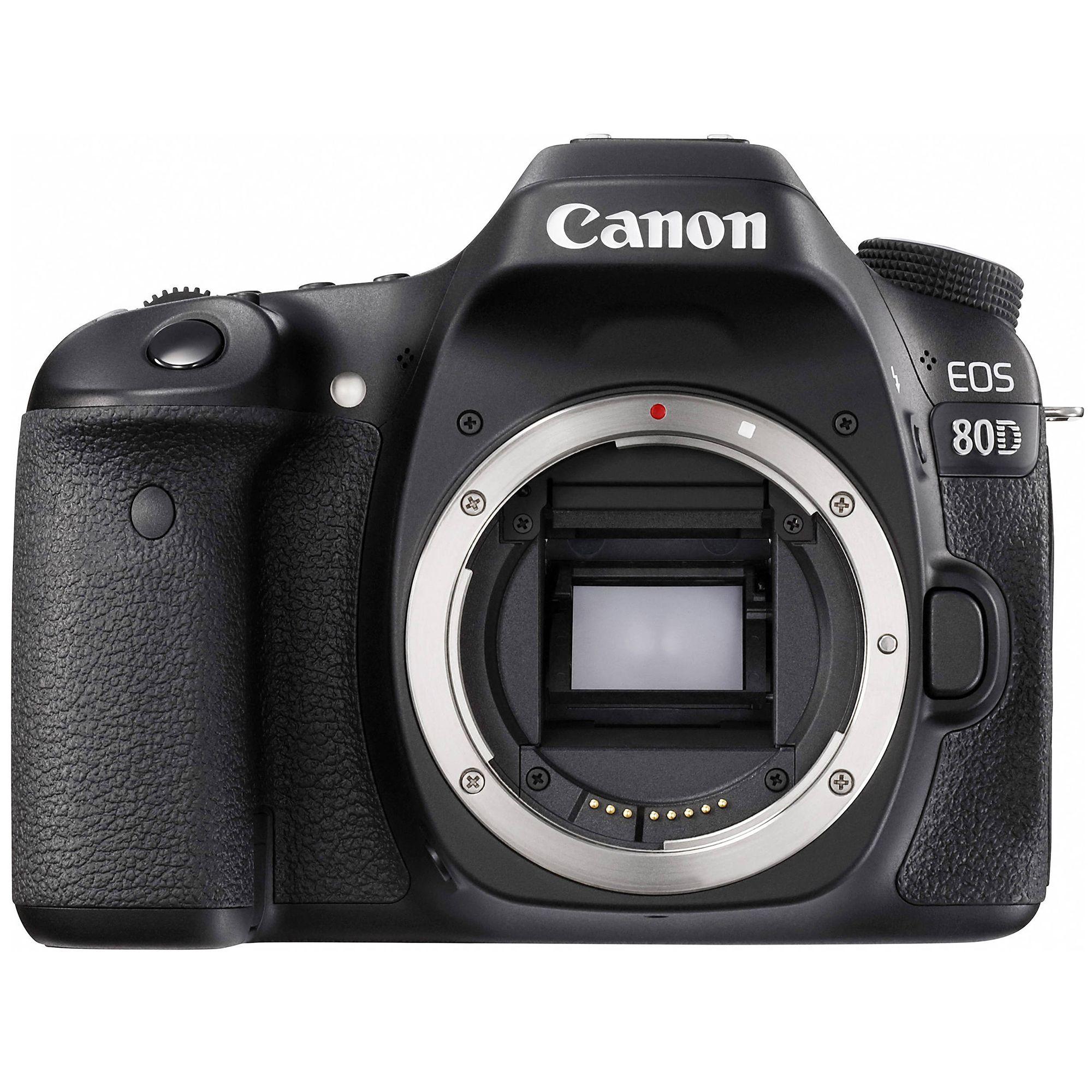 Aparat Foto Canon DSLR EOS 80D Negru