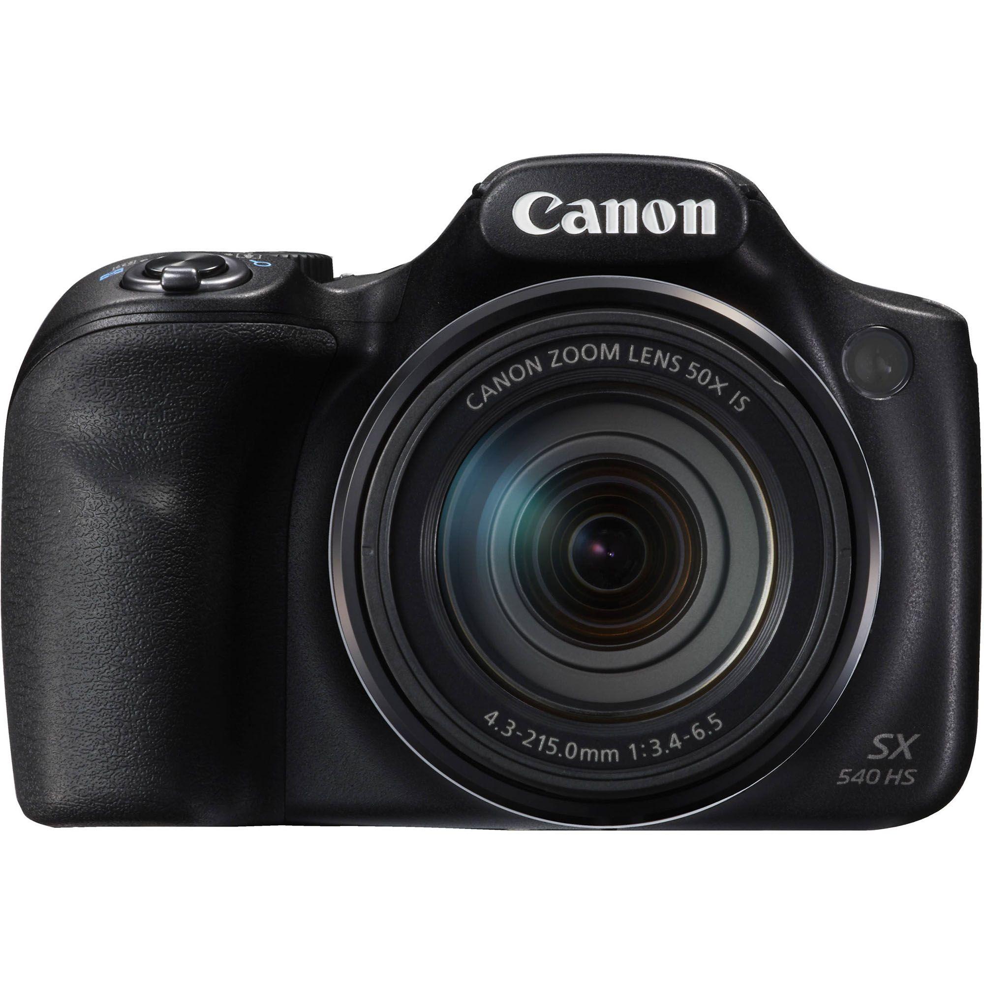 Aparat Foto Canon PowerShot SX540HS Negru