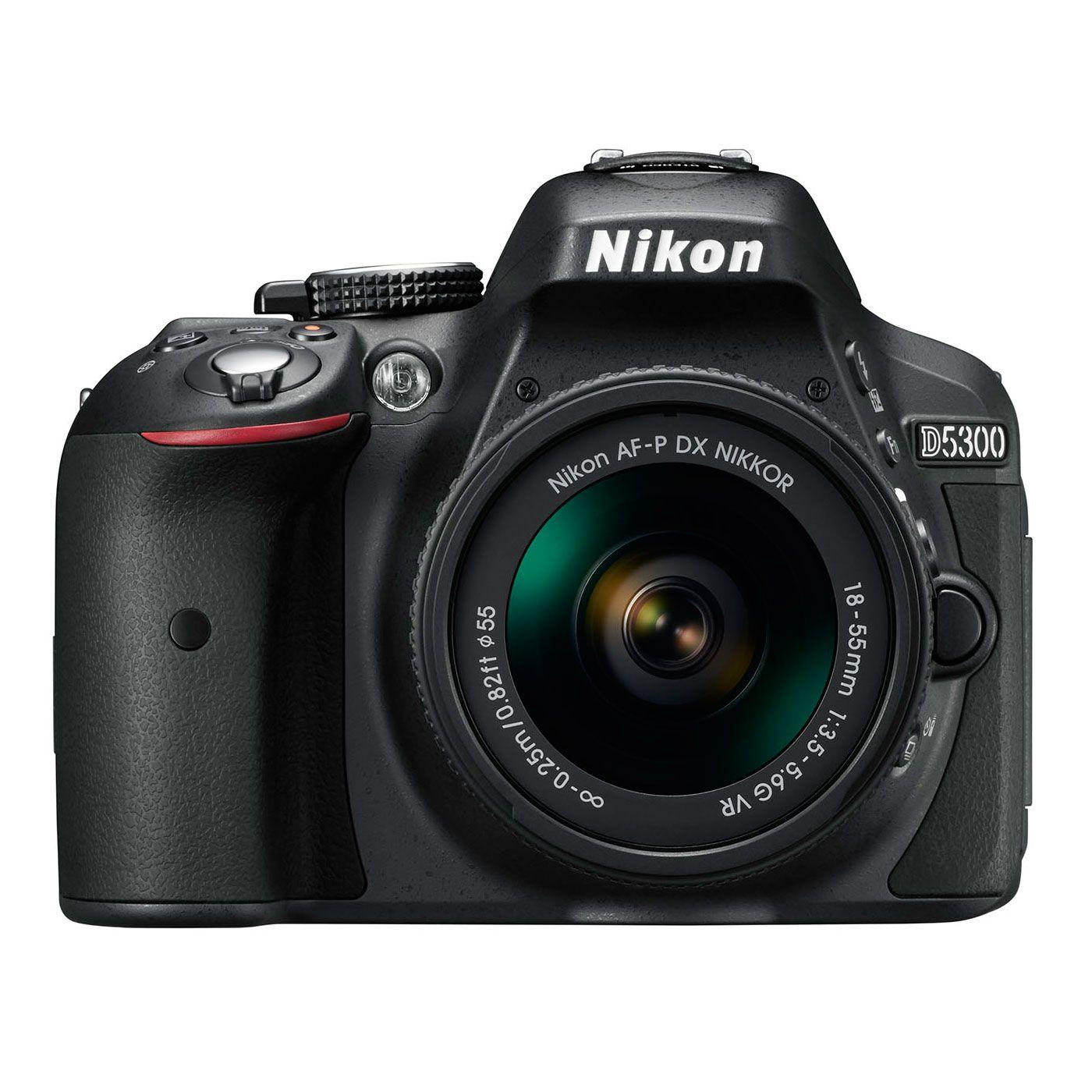 Aparat Foto Nikon DSLR D5300 Negru