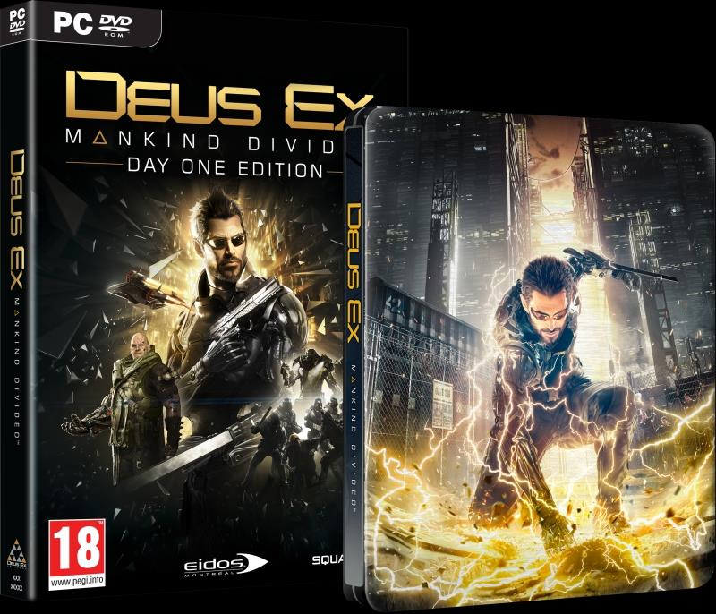 Deus Ex: Mankind Divided Steelbook Edition PC