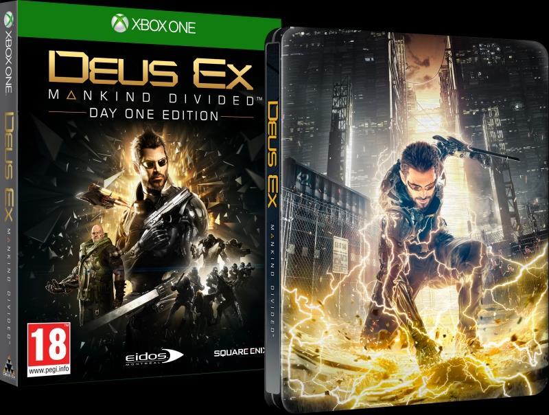 Deus Ex: Mankind Divided Steelbook Edition Xbox One