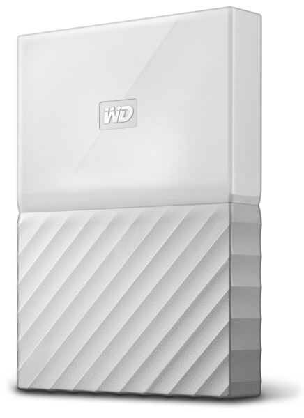 Hard Disk Extern Western Digital My Passport 2TB USB 3.0 Alb