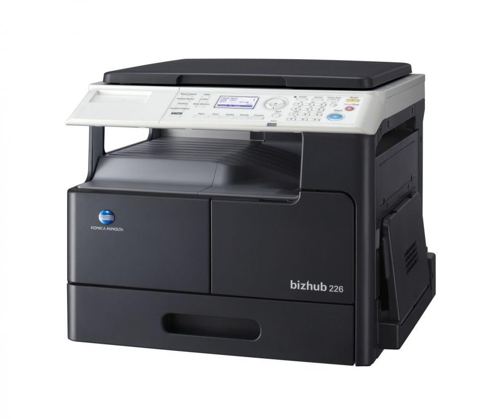 Multifunctional Monocrom Konica Minolta Bizhub 226 + DF625 + AD509 + MK749 + NC504