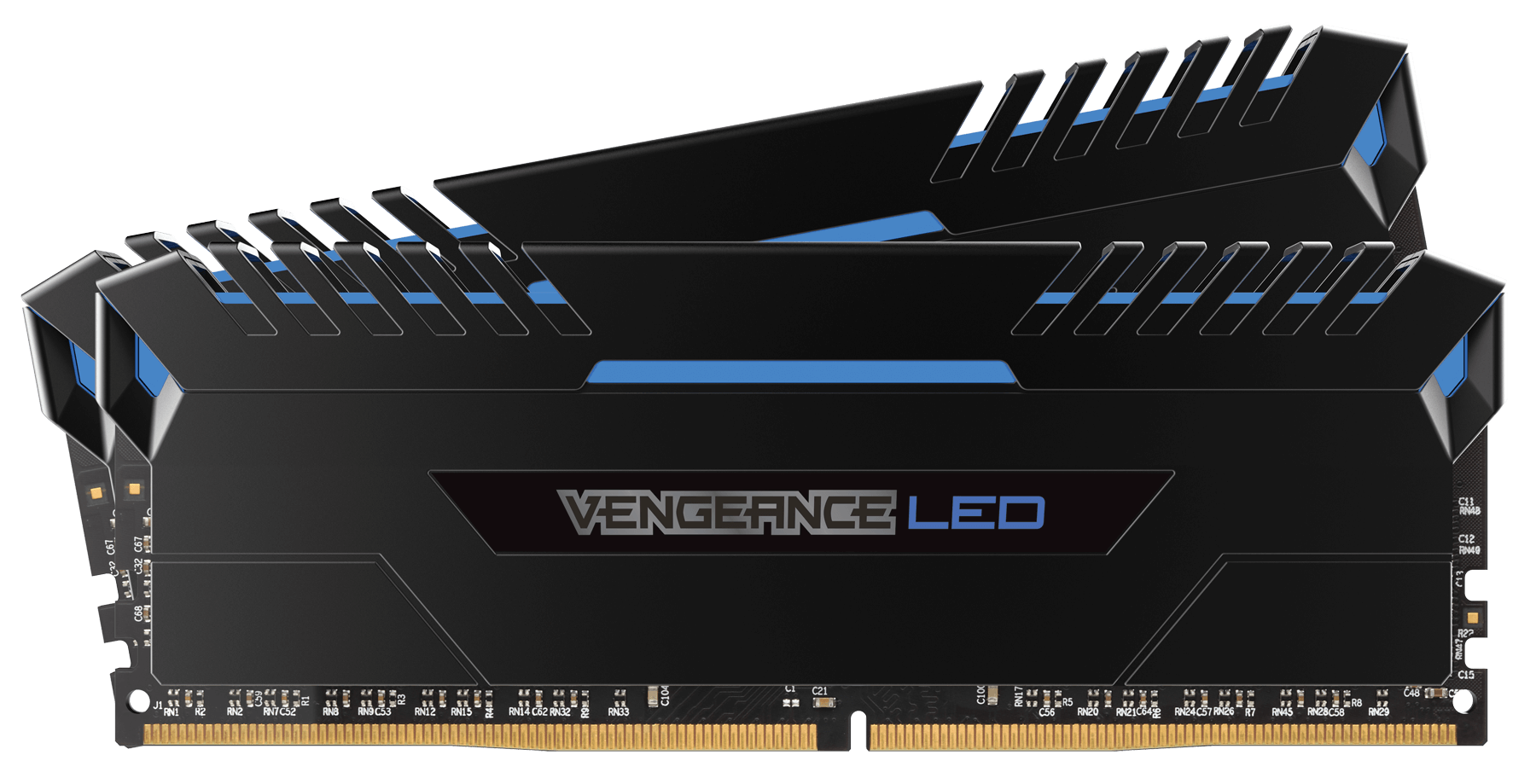 Memorie Desktop Corsair Vengeance LED 32GB (2x16GB) DDR4 3000MHz Blue