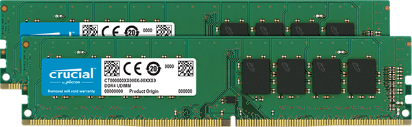 Memorie Desktop Micron Crucial CT2K8G4DFD824A 16GB (2x8GB) DDR4 2400MHz