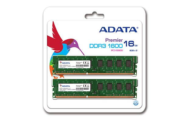 Memorie Desktop Adata AD3U1600W8G11-2 16GB (2x8GB) DDR3 1600MHz