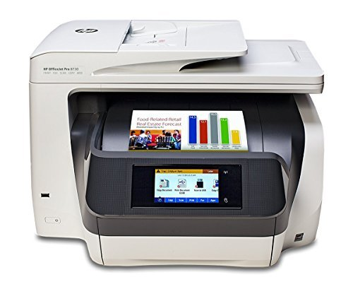 Multifunctional Inkjet HP OfficeJet Pro 8730 All-in-One