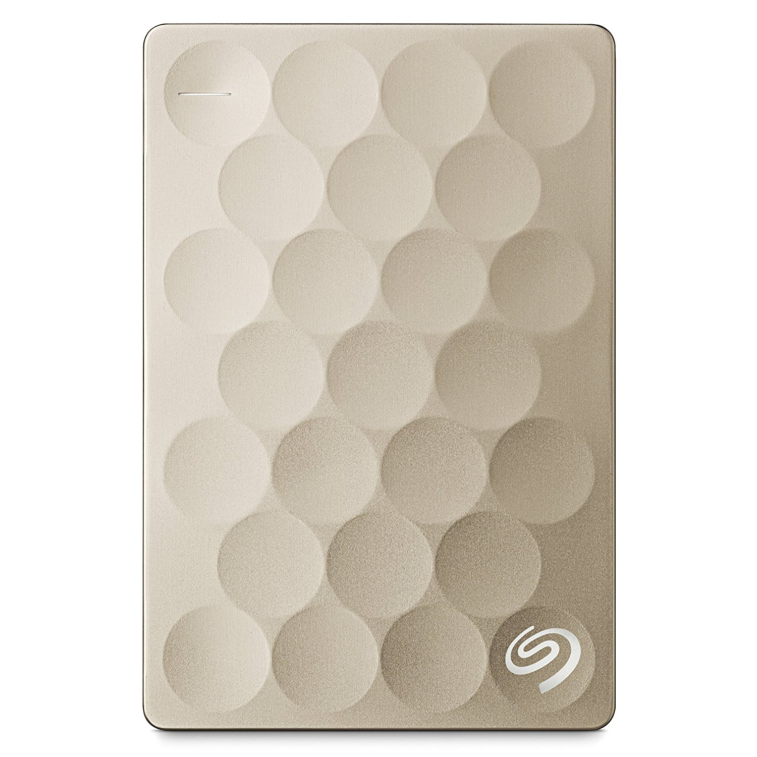 Hard Disk Extern Seagate Backup Plus Ultra Slim 2TB USB 3.0 Gold