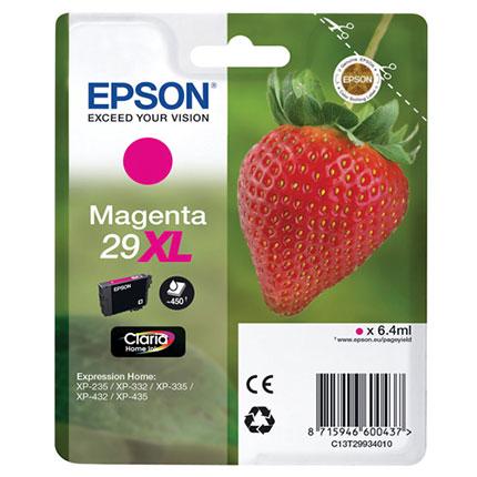 Cartus inkjet Epson 29XL Magenta Claria