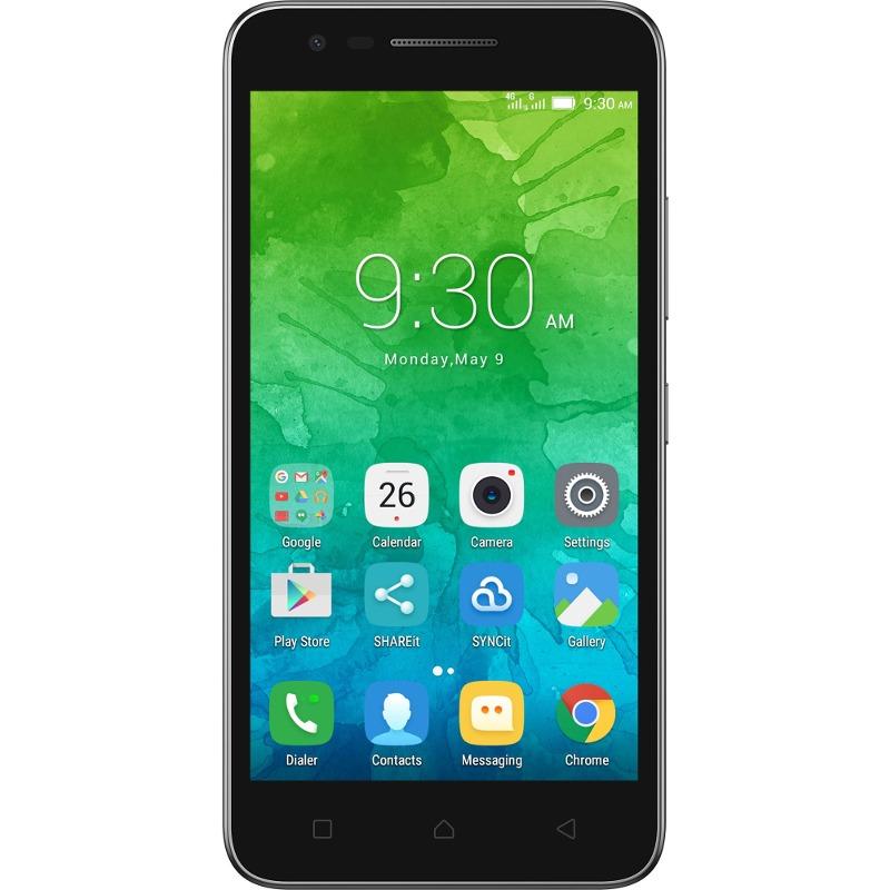 Telefon Mobil Lenovo Vibe C2 8GB Flash Dual SIM 4G Black