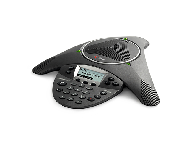 Telefon Polycom SoundStation IP 6000 PoE cu incarcator