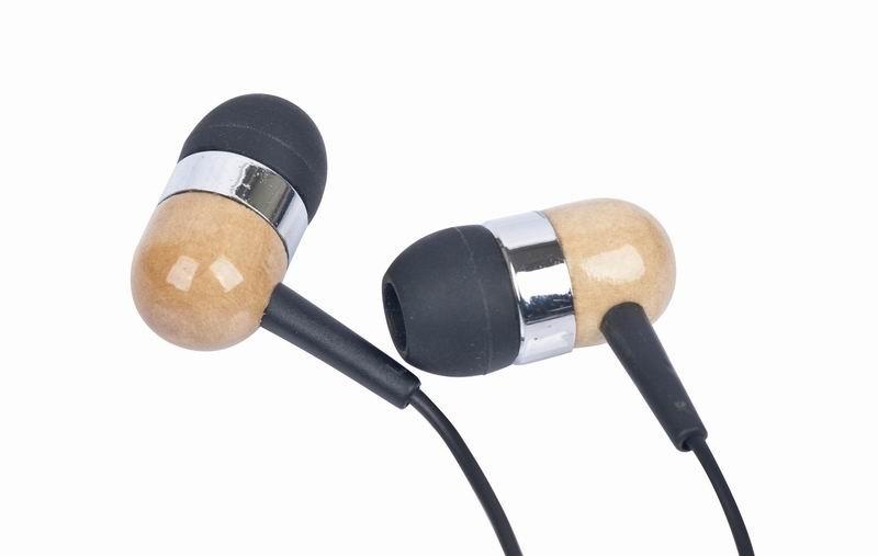Casti Gembird MP3-EP08 Wooden