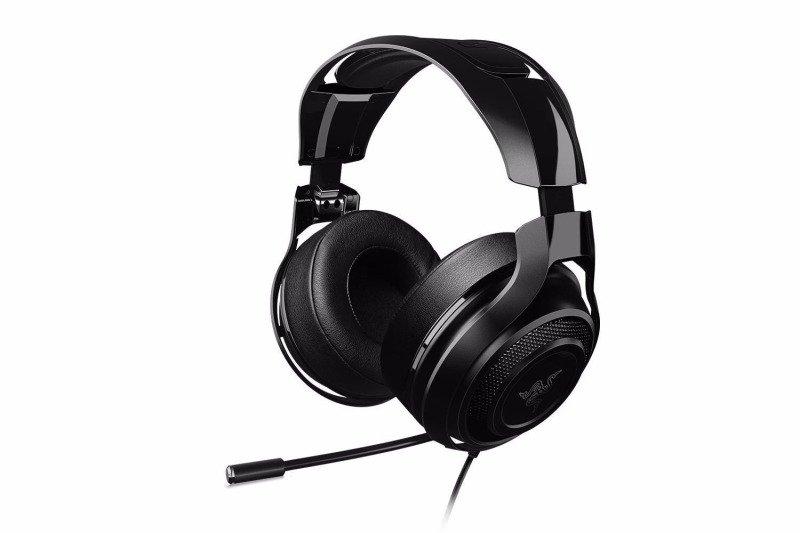 Casti Gaming cu microfon Razer ManOWar 7.1 Negru