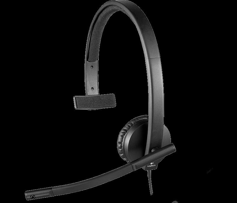Casti cu microfon Logitech H570e Mono