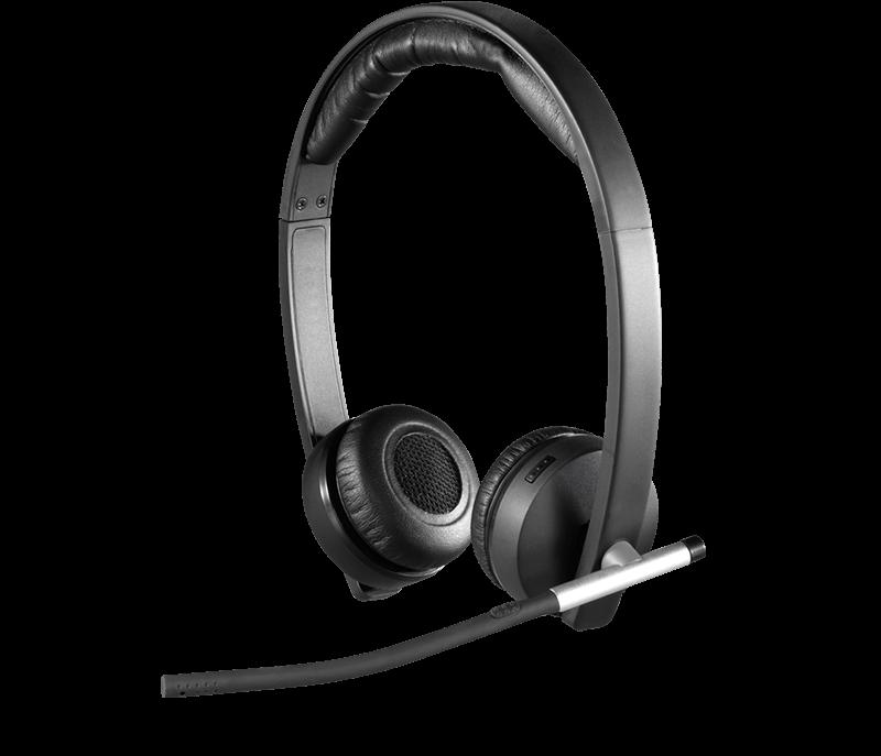 Casti cu microfon Logitech H820e Dual