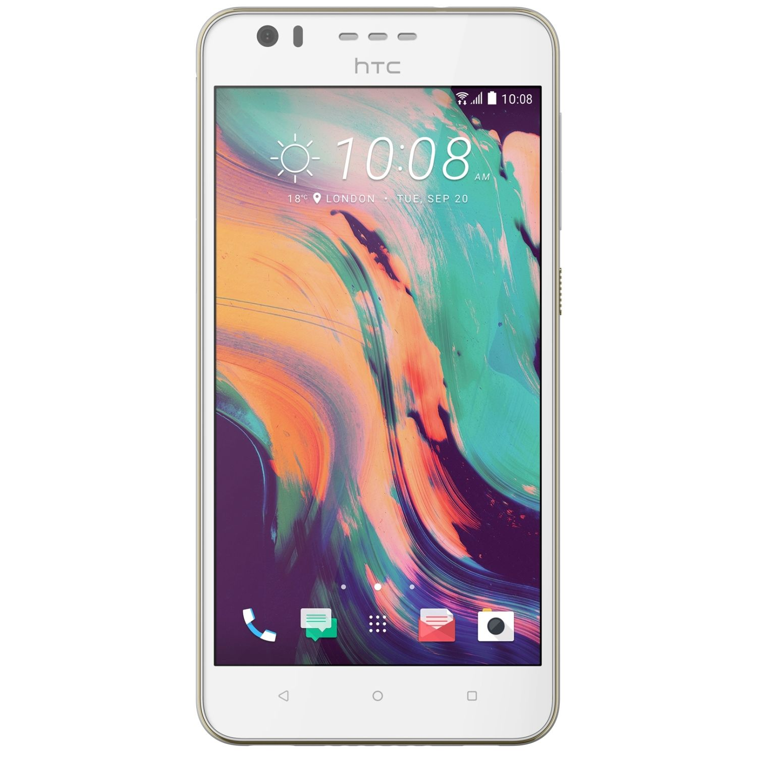 Telefon Mobil HTC Desire 10 Lifestyle 16GB Flash 2GB RAM Single SIM 4G Polar White