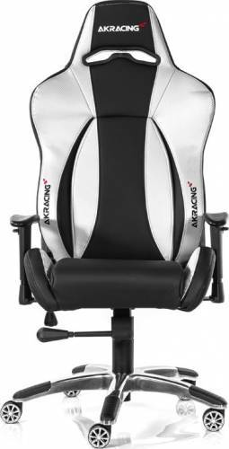 Scaun Gaming Premium AKRacing 7002 Silver