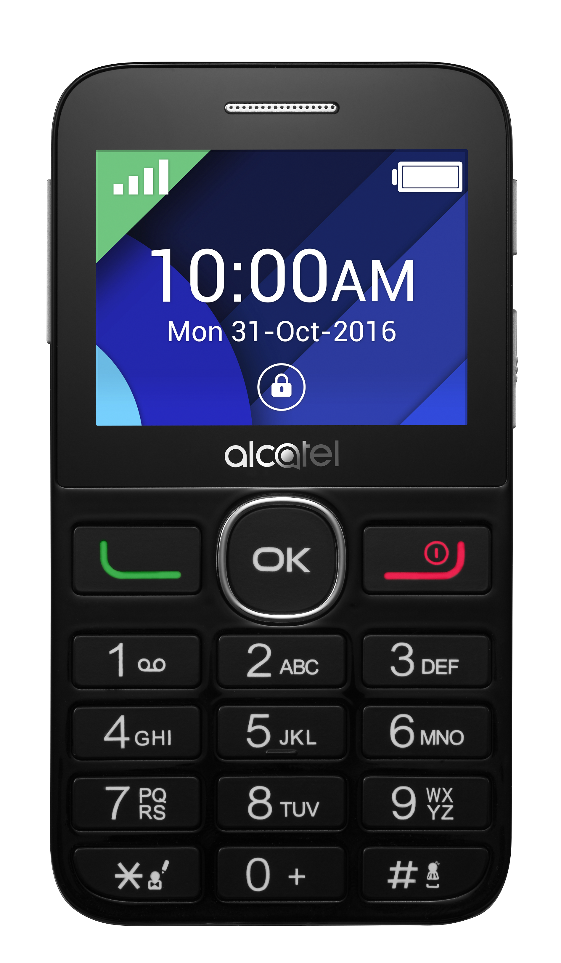 Telefon Mobil Alcatel 2008G Single SIM Black/Silver