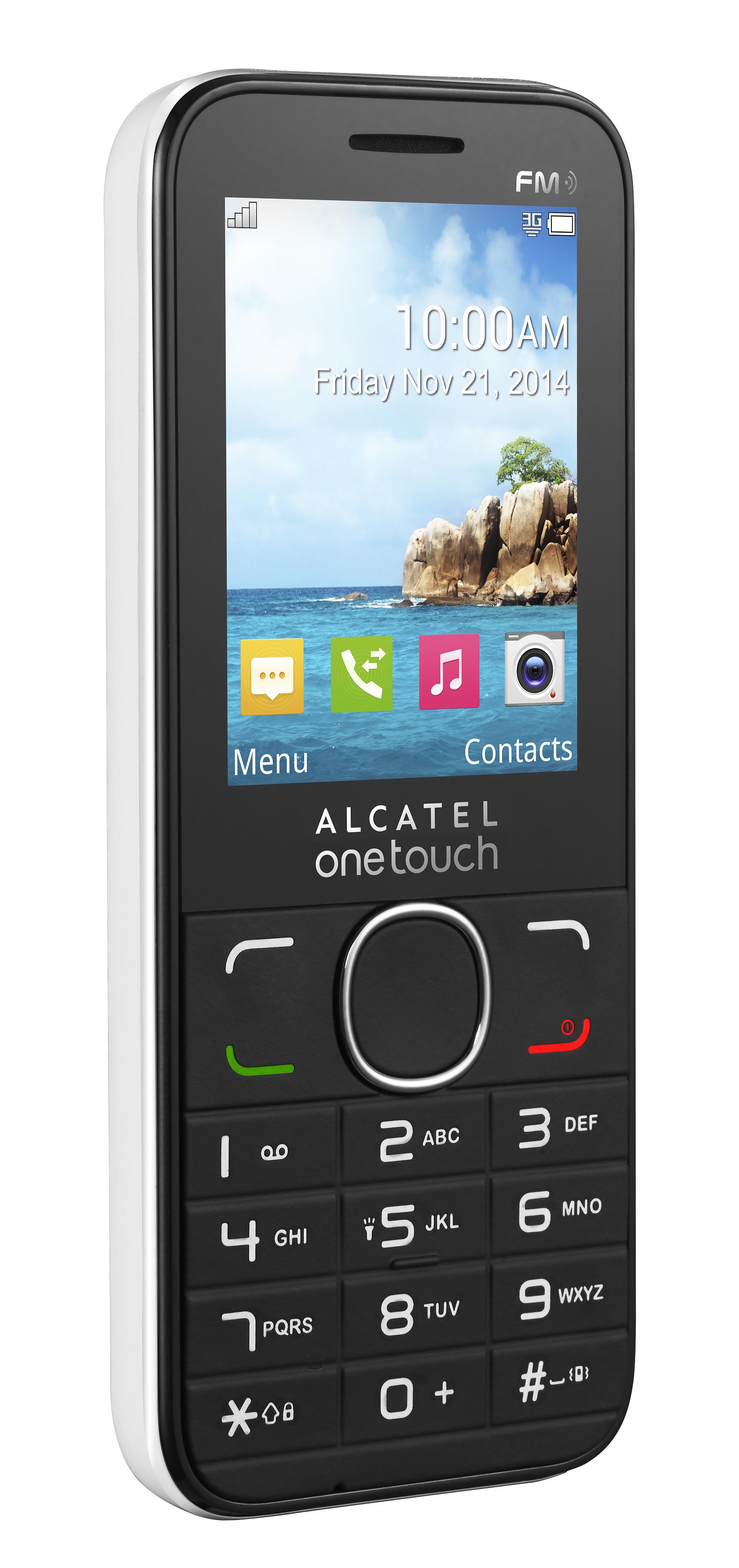 Telefon Mobil Alcatel 2045X Single SIM 3G White