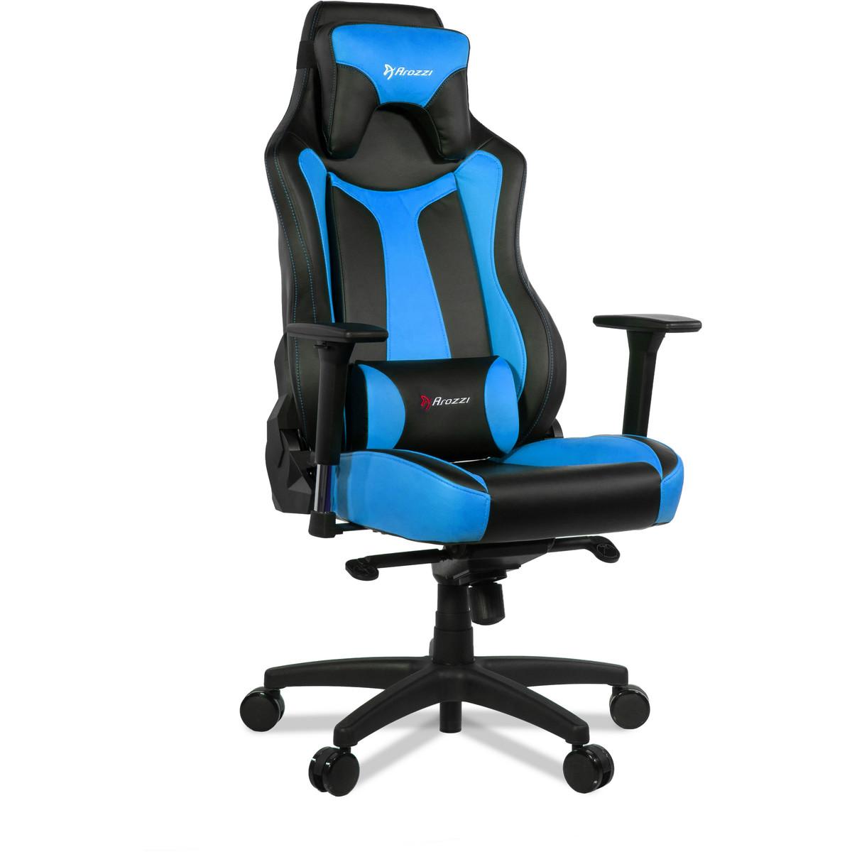 Scaun gaming Premium Arozzi Vernazza Blue