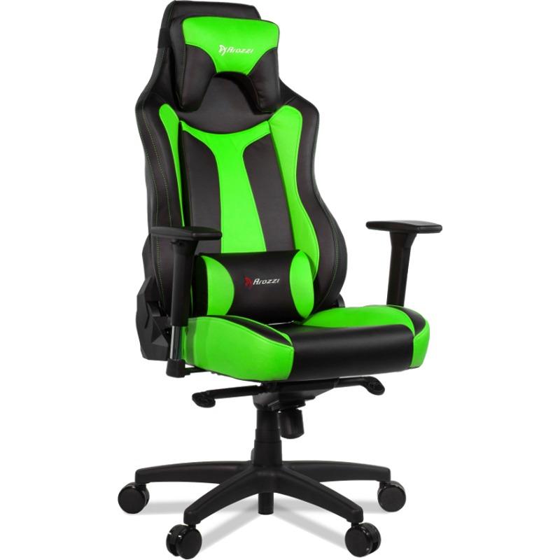 Scaun Gaming Arozzi Vernazza Green